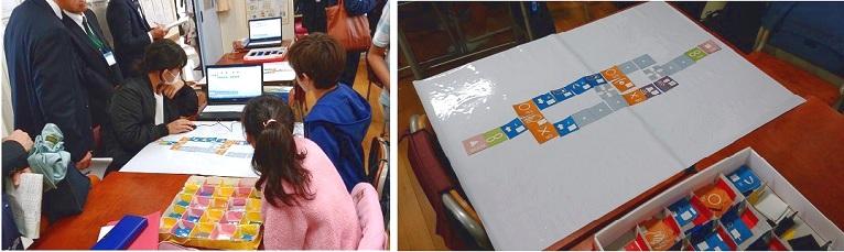 第50回 全国小学校理科研究協議会研究大会 (東京大会)世田谷区立二子玉川小学校 理科授業にコーワライティングシートレギュラータイプ(白・透明)を活用して頂きました